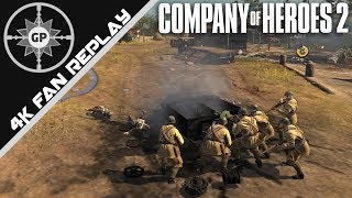 Desperation Leads to Annihilation? - Company of Heroes 2 4K Replays #73