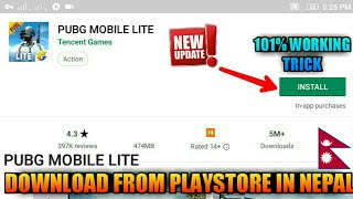 how to download pubg lite in nepal from playstore - TH-Clip