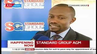 CEO Orlando Lyomu on the status of Standard Group as AGM underway