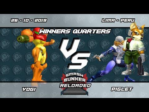 Smash Bunker Reloaded - Yogi (Samus) vs MVK Piglet (Sheik, Fox) - Winners Quarters