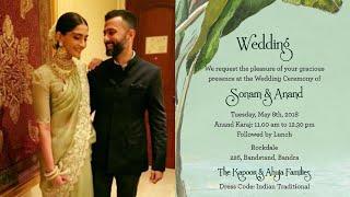 5 Innovative Wedding Invitation Cards Of Bollywood Celebrities | SpotboyE