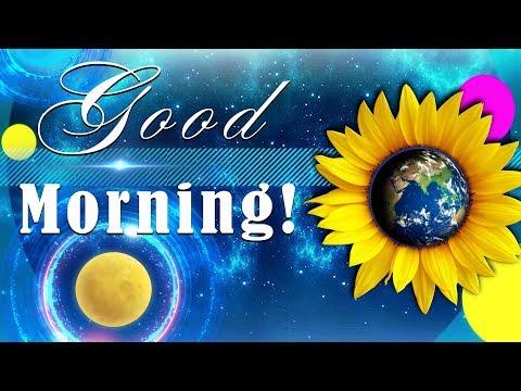 ☀️Good Morning! Be Happy!☀️Animation Greeting Cards #4K #WhatsApp