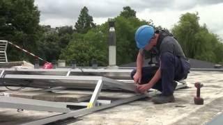 Geen energiebelasting voor pv lease daken grootverbruikers