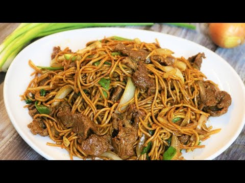 BETTER THAN TAKEOUT – Beef Lo Mein Recipe