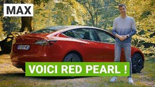 Je vous présente Red Pearl : ma Tesla Model 3