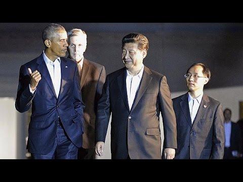 ΗΠΑ: Συνάντηση του προέδρου της Κίνας με τον Μπαράκ Ομπάμα