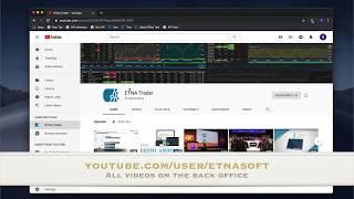 ETNA Broker Back Office-video