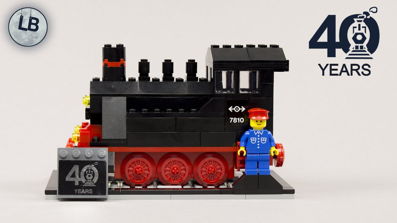 LEGO 40370 - Steam Engine - Promotional - Speed Build Review