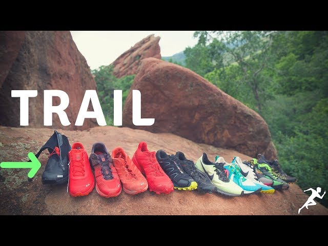 Trail Running Shoe options, part 1