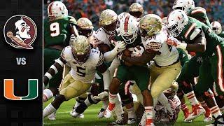 Florida State vs. Miami Football Highlights (2018)