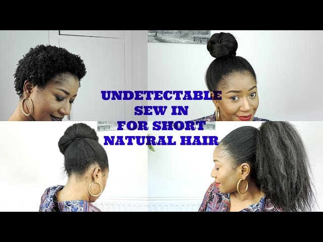 Undetectable Sew In For Short How To Natural Looking Sew In Weave