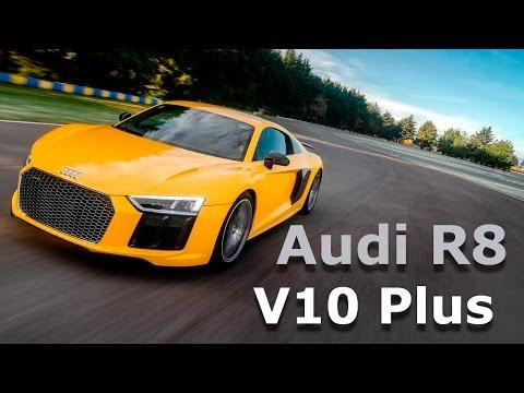 Audi R8 V10 Plus - Digno auto de un superhéroe
