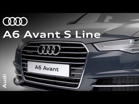 Audi  A6 Avant Универсал класса A - рекламное видео 2