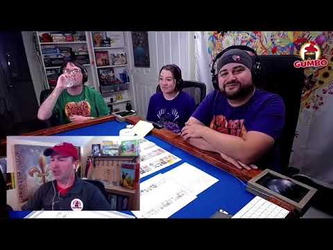 Gumbo Live! with I Heart Board Games talking Decrypto
