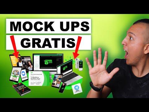 Cómo crear un MOCK UP con HERRAMIENTRAS GRATIS (Con CANVA y SMART MOCK UPS) 🎈