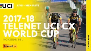 Men Elite - 2017-18 Telenet UCI Cyclo-cross World Cup – Koksijde (BEL)
