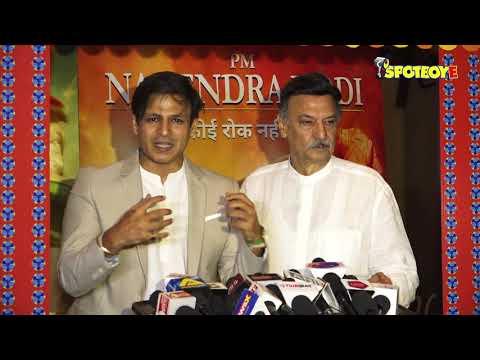 PM Narendra Modi Film Screening | Vivek Oberoi With Father Suresh , Ankita Lokhande & Others Attend