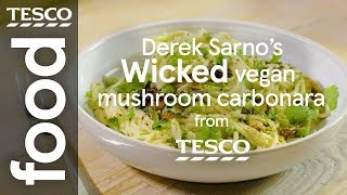 Derek Sarno's Wicked vegan mushroom carbonara