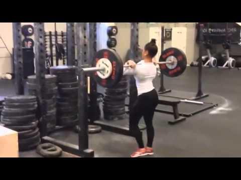 Con gái rất ít khi tập gym, một khi đã tập là phải thế này. Anh nào đủ level vào đọ với em nào