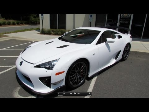 2012 Lexus LFA Nürburgring Edition In-Depth Review