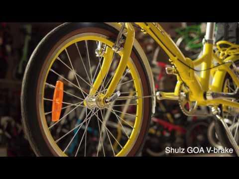 Смотреть видео Велосипед Shulz Goa V-brake (2019)