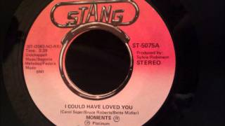 Moments - I Could Have Loved You - Beautiful Late 70's Soul Ballad