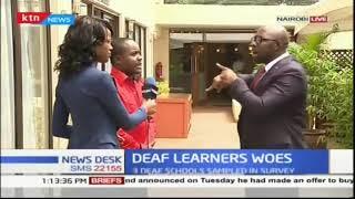 Deaf children in Kenya show evidence of having delays in competency