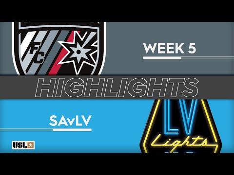 Сан-Антонио - Las Vegas Lights 2:1. Видеообзор матча 07.04.2019. Видео голов и опасных моментов игры