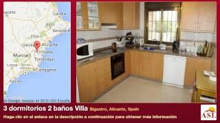 preview picture of video '3 dormitorios 2 baños Villa se Vende en Bigastro, Alicante, Spain'