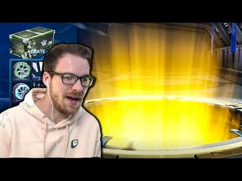 I Got This Rocket League Youtuber To Do My Crate Opening
