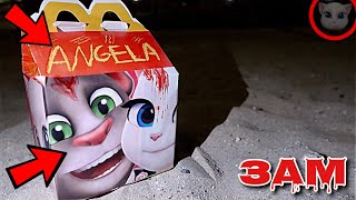 DO NOT ORDER TALKING ANGELA AND TALKING TOM HAPPY MEAL AT 3AM!! *OMG SHE ACTUALLY CAME TO MY HOUSE*