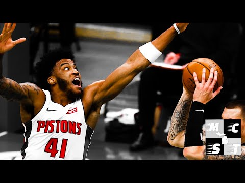 Saddiq Bey Becomes Second Detroit Pistons Rookie To Win Player of The Week!!! Other Kelly Tripucka