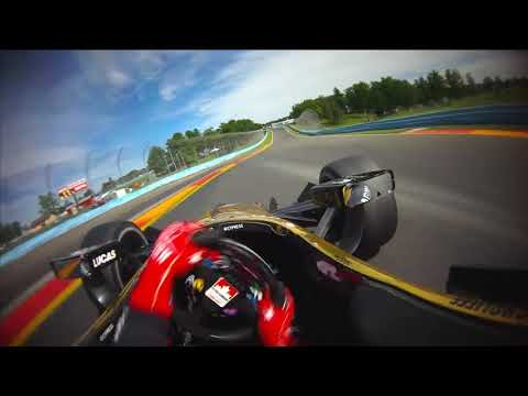VISOR CAM: James Hinchcliffe at Watkins Glen International
