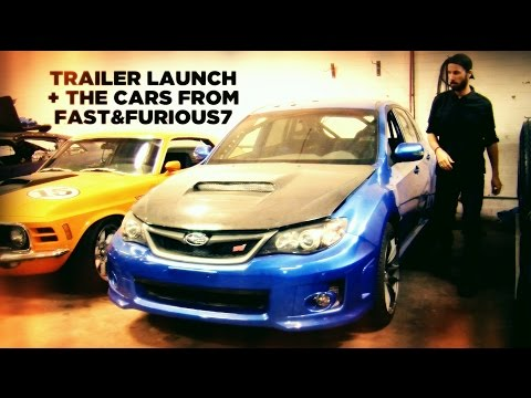 The Cars from Furious7 [Fast & Furious 7] + Trailer Launch