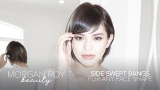 Side Swept Bangs For Any Face Shape