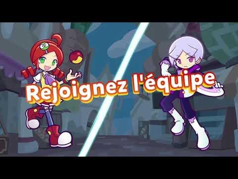 Trailer de lancement pour la version PC (Steam) de Puyo Puyo Tetris 2