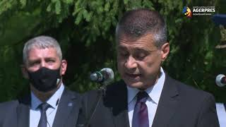 Ambasadorul Saranga, la comemorarea militarilor decedaţi în Bucegi: A ne onora eroii înseamnă şi să fim alături de familiile lor
