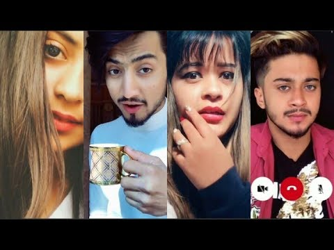 Best duets of Mr Faisu & Hasnain with cute girls😘😘