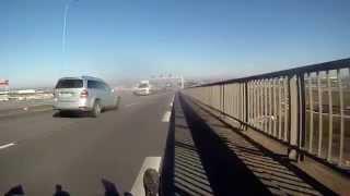 preview picture of video 'Descente du pont de Saint Nazaire'