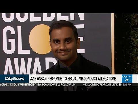 Aziz Ansari responds to sexual misconduct allegations