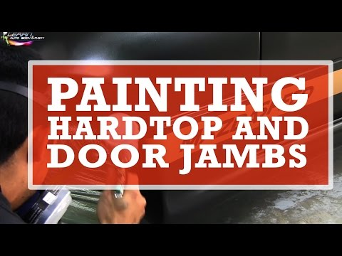 DIY Newbie Tips: Painting a Hardtop and Door Jambs