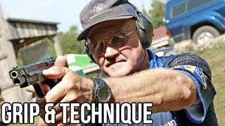 How to shoot a Pistol with world champion shooter, Jerry Miculek