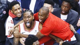Kawhi Leonard CRAZY GAME-WINNER - Game 7 | Raptors vs 76ers | 2019 NBA Playoffs