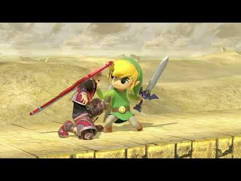 Super Smash Bros. Ultimate - Bandes annonces - Toon Link
