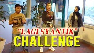 Gambar cover Sibad buat dance challenge Lagi Syantik di Radio Malaysia #Malaysia