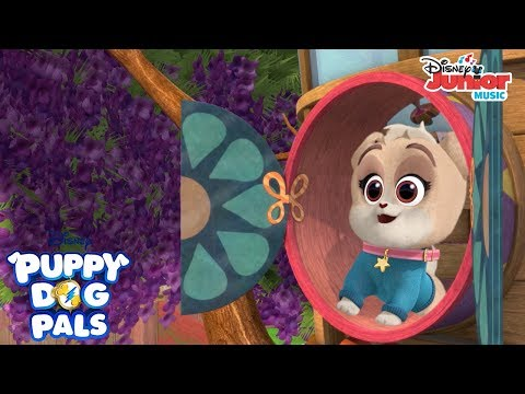 Guess Whose Got A Brand New Dog House Music Video | Playtime With Puppy Dog Pals | Disney Junior