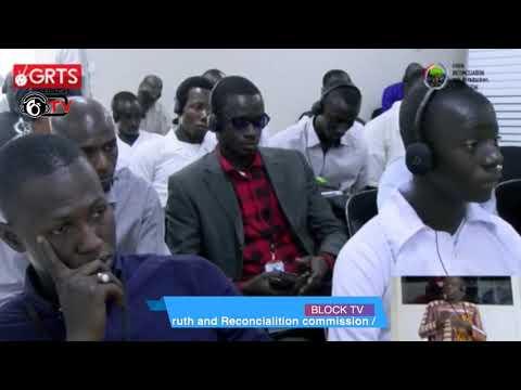 TRRC Day 19 Momodou Lamin Gassama Testifies part 2 (видео)
