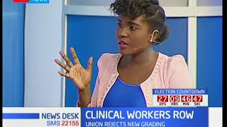 CLINICAL WORKERS ROW: Nurses continue to be on strike