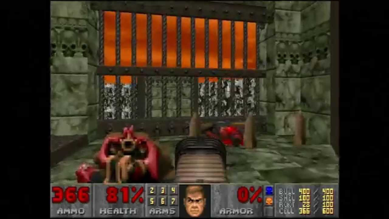 """Doom (E4M6 """"Against Thee Wickedly"""") Walkthrough – Ultra-Violence"""