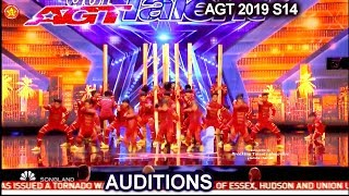 V.Unbeatable Dance Group from India GETS STANDING OVATION   America's Got Talent 2019 Audition